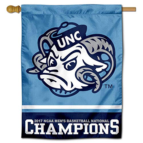 UNC Tar Heels 2017National Champions House Flagge Banner