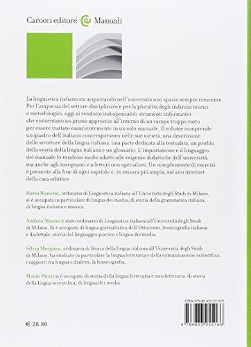 Zoom IMG-1 elementi di linguistica italiana