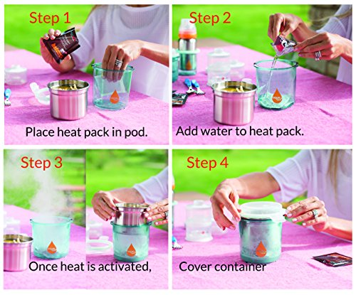 Innobaby Aquaheat Warm Paquet de 6 Réchauffeurs