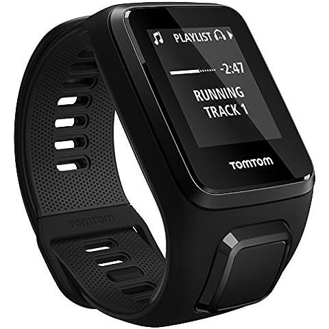 TomTom SPARK 3 Music+Auricualres - Reloj deportivo Negro (Talla pequeña)