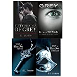 Fifty Shades of Grey 4 Books Collection Set By E L James (Grey Fifty Shades of Grey As Told by Christian, Fifty Shades Freed, Fifty Shades Darker and Fifty Shades of Grey)