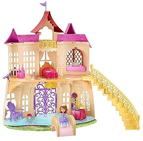 Disney Princesses - Cdt72 - Maison De Poupée - Château Royal - Princesse Sofia