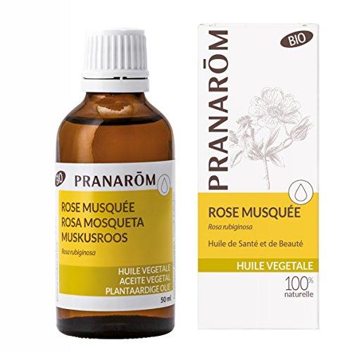 Pranarôm - HUILES VEGETALES - Rose musquée BIO - 50 ml