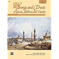 Songs and Duets of Garcia, Malibran and