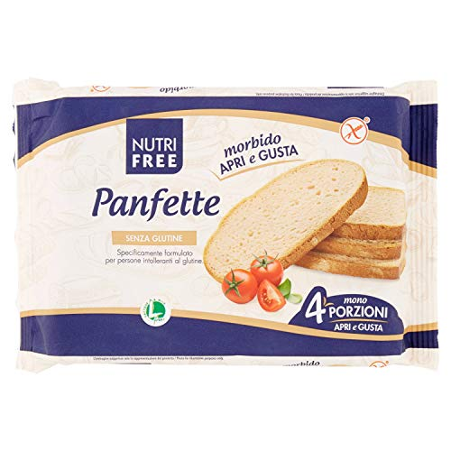 Nutri free panfette pane casereccio - 3 confezioni da 4 x 300 g, senza glutine