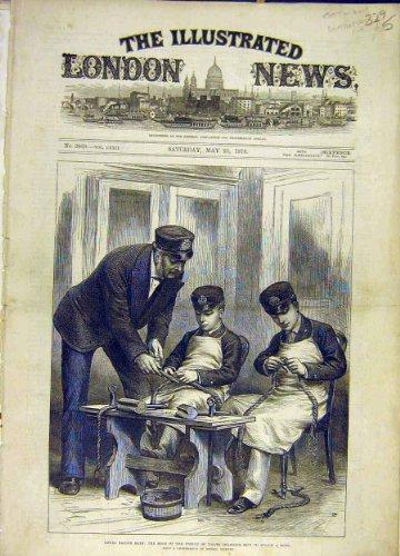 SozialGeschichte 1878 Königliche Seemann-Jungen-Prinz-Victorian