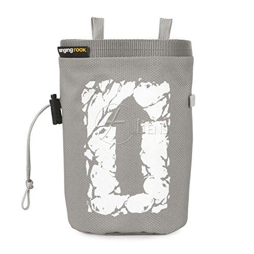 Singing Rock Chalk Bag Large New| Šedý Singing Rock Chalk Bag