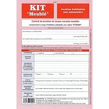 Contrat Location Habitation Kit Meublé