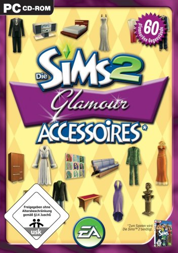 Electronic Arts GmbH Die Sims 2 - Glamour Accessoires (Add-on)