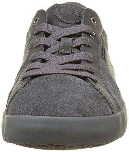 Geox Herren U Smart B Sneaker Grau (Anthracite)