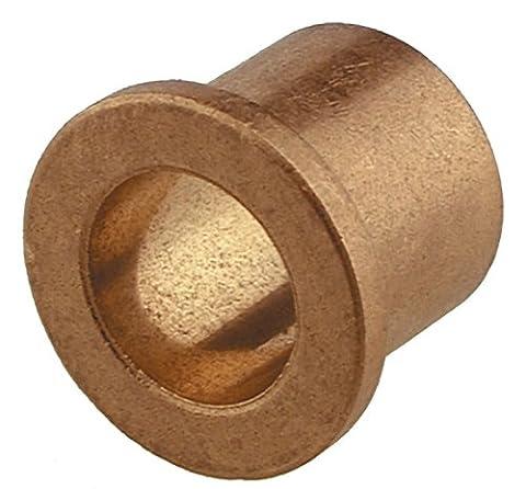 The Hillman Group 58608 Metric Bronze Flange Bearing, 12mm x