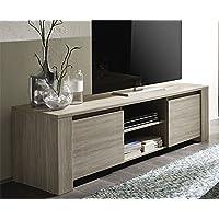 Tuduo Mobile Porta TV in MDF 120x30x50 cm Grigio Design Elegante e ...