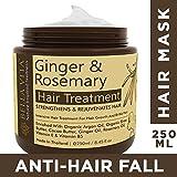 Bella Vita Organic Hair Growth & Fall Control Keratin Mask With Ginger, Rosemary