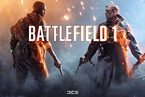 Preisvergleich Produktbild Battlefield 1 Poster Squad (91, 5cm x 61cm) + Original tesa Powerstrips® (1 Pack / 20 Stk.)