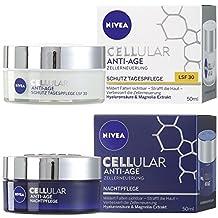 Nivea Cellular Anti-Age Tagespflege LF30 50 ml, 1er Pack (1 x 0.05 l) + Nachtpflege 50ml, 1er Pack (1 x 50 ml)