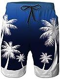 Loveternal Hawaii Costume Uomo Mare Boardshorts Summer Beach Pantaloncini da Surf Ananas Beach Short con Tasche Laterali 3XL