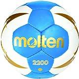 Molten Kinder H0X2200-BW Handball, Blau, One Size