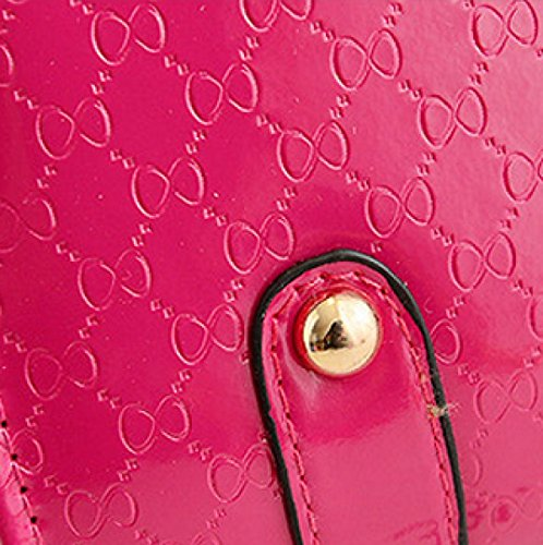 Koreanische Version Mode Kette Damen Portable Schulter Diagonal Paket,Pink DarkBlue