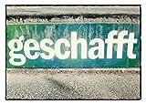 Postkarte A6 +++ STREET ART von modern times +++ AM ZIEL +++ TOM BÄCKER