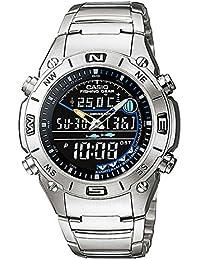 fde37c649538 Reloj analógico digital CASIO -OUTGEAR- AMW-703D-1AV - Funciones de pesca