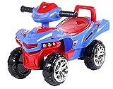 Toy House Racing Turbo Push ATV, Blue