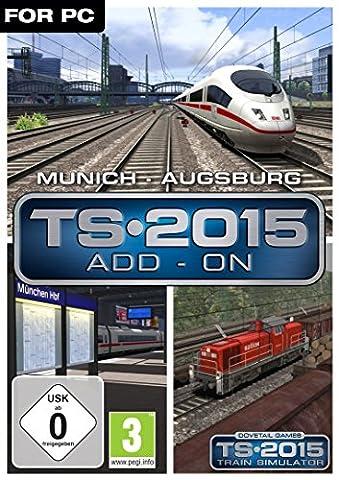 Train Simulator 2015 - Munich - Augsburg [PC Code -
