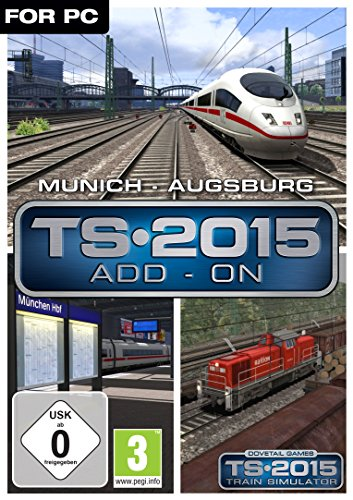 Train Simulator 2015 Munich Augsburg