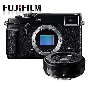 "Fujifilm X-Pro2 Mirrorless Compact System Camera w/ Fujinon XF27 27mm F2.8 Pancake Lens (24MP, APS-C X-Trans CMOS Sensor, 3"" LCD)"