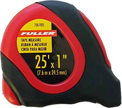 Fuller Werkzeug 750–702525Fuß leicht abzulesendes Maßband (Fuß 25 Maßband)