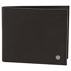 Van Husen Mens Leather 1 Fold Wallet