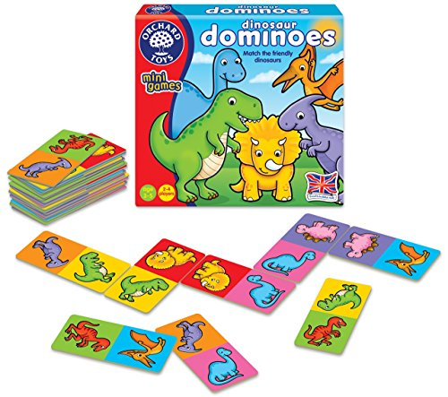 Image of Orchard Toys Dinosaur Dominoes