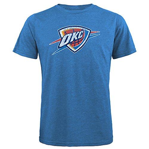Majestic Athletic NBA Herren Premium Triblend Crew Tee, Herren, Men's Premium Tee, THU Blue, X-Large Thread-blue Tee