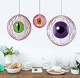 Evil Eye Honeycomb Ball Hanging - 3PC