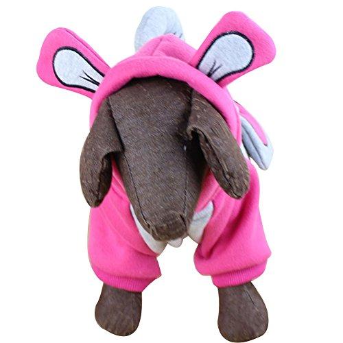 omem Hund Variable Elefant Jumpsuit Halloween, Weihnachten Kleid Strick weicher Winter Dick Lang Nase Elefant Einzigartiges - Elefanten Nase Kostüm