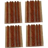 Aerzetix: Lot de 20 mèches longues 10cm pour kit de réparation de pneu voiture auto moto - C1648