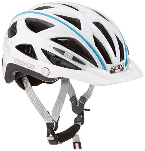 Casco Erwachsene Helm Active-Tc Femme, Weiß, 52-58cm, 16.04.0816.M