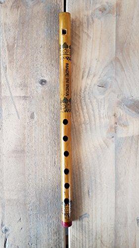 Indische Bambus Flöte Bansuri mit fipple Mundstück