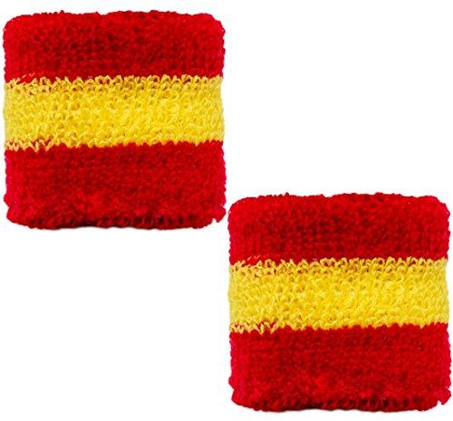 Brubaker–Muñequera españa Rojo Amarillo Rojo