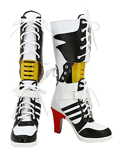 Damen Cosplay Schuhe Cosplay Kostüm Stiefel Boots Shoes (39)