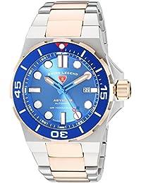 Swiss Legend Herren-Armbanduhr SL-10062A-SR-33-SM-W