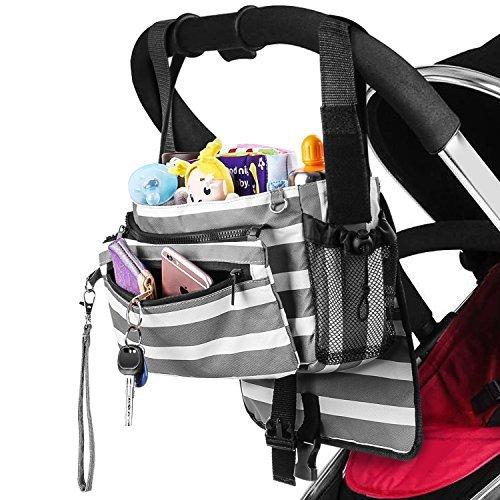 Zooawa Universal Baby Stroller Diaper Bag Storage