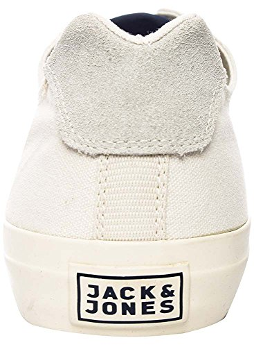 Jack & Jones Herren Orlando Cotton Low Whisper White