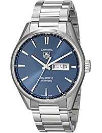 TAG HEUER MEN'S 41MM STEEL BRACELET & CASE AUTOMATIC WATCH WAR201E.BA0723
