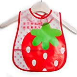 Zigma's Waterproof Baby Bib Apron With Adjustable Size (RED)