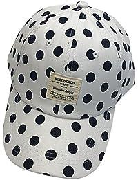 ACVIP Cotone Donna Cappello Baseball cap Hat a Pois 8299386e64a7