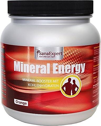 SanaExpert Mineral Energy, Isotonisches Sportgetränk mit Elektrolyten, Vitaminen und Mineralien,