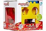 Globo Toys Globo-5087VITAMINA _ G Activity Cube mit Formen Snap