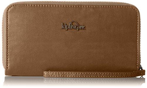 Kipling Alia, Portefeuilles femme, Or (Dusty Metal), 15x24x45 cm (W x H x L)