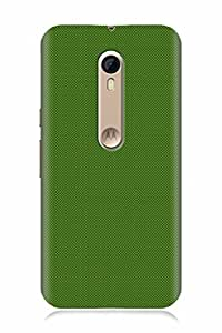 FABCASE Premium green greendots dots Printed Hard Plastic Back Case Cover for Motorola Moto X Style