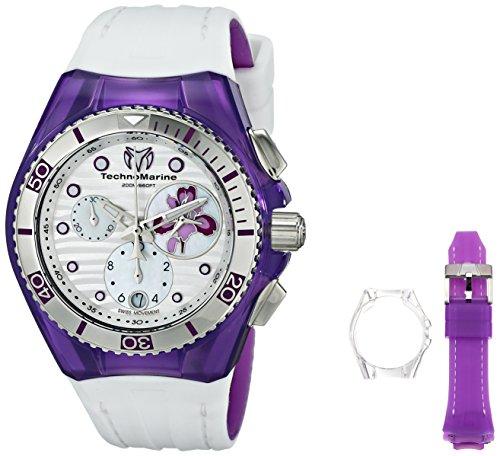 technomarine-114004-orologio-da-polso-display-cronografo-donna-bracciale-silicone-bianco